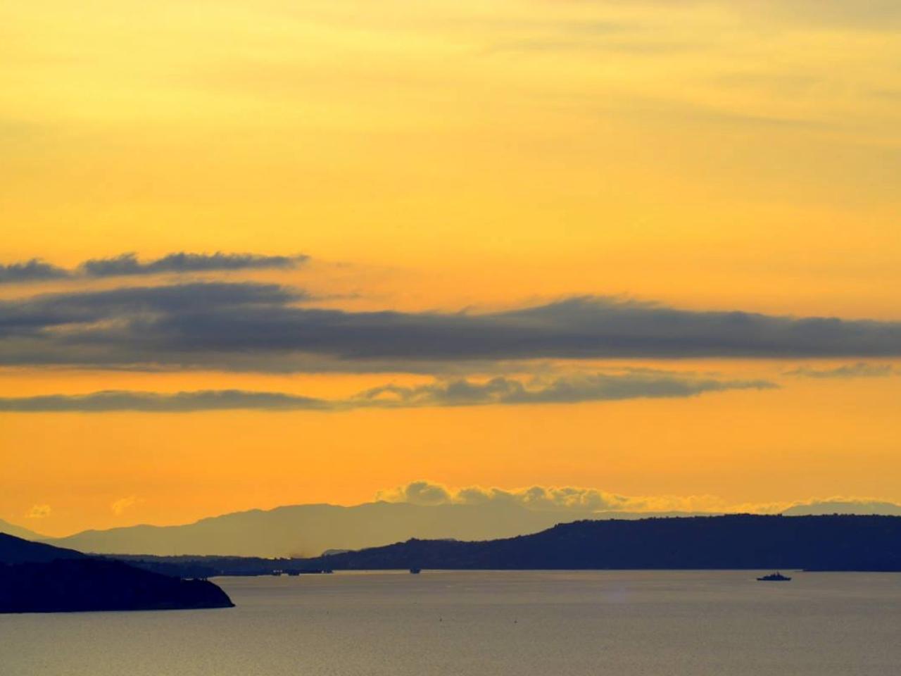 kokkino chorio chania sunset
