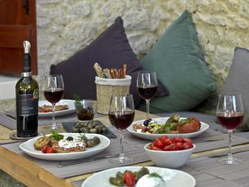 CreteTravel,Central Crete,Cooking Lessons At Boutari Winery At Skalani Village