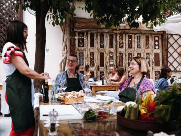 CreteTravel,Central Crete,Cooking Lessons In Rethymno - An Authentic Cretan Cooking Experience