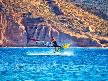 CreteTravel,East Crete,Windsurfing in East Crete