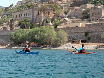 CreteTravel,East Crete,Sea Kayak Elounda - Spinalonga