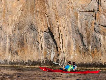 CreteTravel,South Crete,Sea Kayak Kaloi Limenes - Lentas
