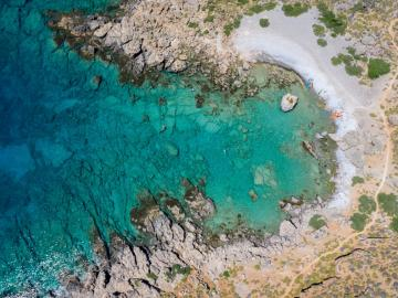 CreteTravel,South Crete,Samaria National Park Sea Kayak Trip