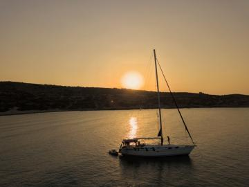 CreteTravel,South Crete,Sunset Sailing Trip In Sfakia Area & Loutro Village