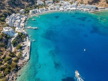 CreteTravel,South Crete,Boat Trip to Marmara Beach & Loutro Village