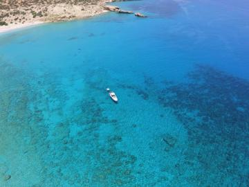CreteTravel,South Crete,Boat Trip To Best Beaches of South Chania