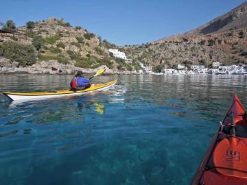 CreteTravel,South Crete,Sea Kayak Day Trip - Sfakia & Loutro Village