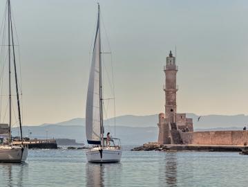 CreteTravel,West Crete,Daily Sailing Trip In Chania - Crete