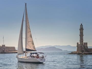 CreteTravel,West Crete,Daily Sailing Trip In Chania - Crete