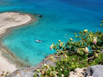 CreteTravel,West Crete,Daily Sailing Cruises from Falasarna-Kissamos to Gramvousa & Balos Lagoon