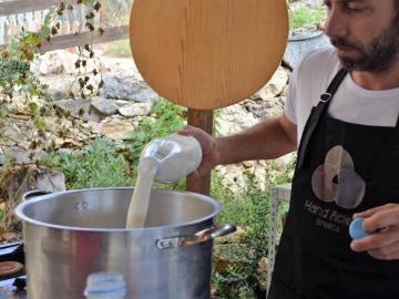 CreteTravel,West Crete,Artisan Cheese Workshop and Tasting