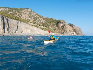 CreteTravel,West Crete,Ten Day Sea Kayak Trip In West Crete