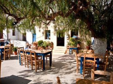 CreteTravel,East Crete, Piperia Tavern