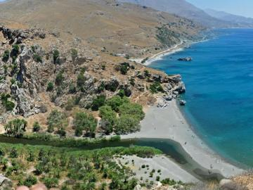CreteTravel,South Crete, The Preveli Monastery & Beach