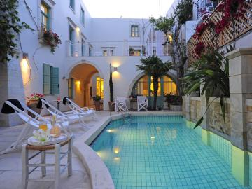 CreteTravel, Hotels, Mythos Suites Boutique Hotel - Rethimno