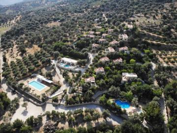 Eleonas Country Village is an agrotouristic settlement in the mountains of southern Crete, with 22 rustic cottages