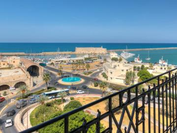 heraklion views, GDM Megaron historical monument hotel, Heraklion Gdm megaron hotel, Gdm historic hotel heraklion crete, luxury hotel heraklion crete, sea views hotel heraklion, old venetian port heraklion best hotel, where to stay heraklion, hotel near heraklion port,