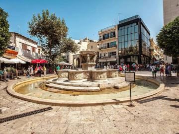 Heraklion, Crete's vibrant capital and home of its finest archaeological collection, heraklion travel guide