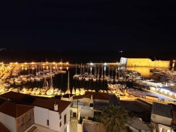 views Venetian Fortress Koules and Old Venetian Port Of Heraklion