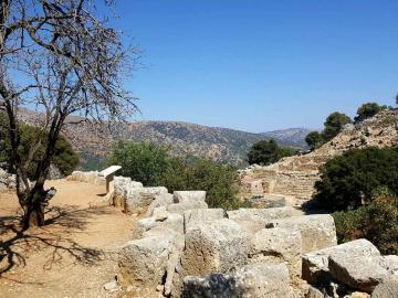 lato site kritsa village agios nikolaos crete, critsa village east crete
