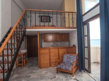 Artemis Studios Agia Roumeli Sfakia Crete, Split Level Studio Artemis Hotel, Agia roumeli small hotel, quiet hotel agia roumeli crete