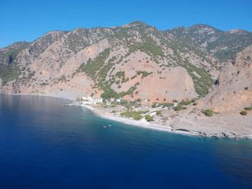 CreteTravel, Hotels, Artemis Studios - Agia Roumeli