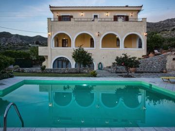 CreteTravel,South Crete,Villa Petrinos Millos