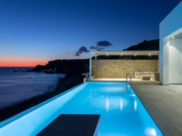 villa 2brothers kerames, villa two brothers agia fotia, agia fotini villa 2brothers, best villa south rethimno, sea view design villa south crete, stylish villa private pool, three bedrooom villa south rethymno crete, best villa crete, villas crete, superb residence house rethimno