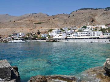 chora sfakion, sfakia village, ferry to loutro agia roumeli, sfakia port chania crete