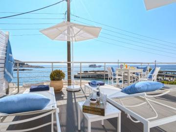 Suite Sea View, lefka ori hotel sfakia village, lefka ori chora sfakion, sea view hotel sfakia, best hotel to stay south chania, best value for money hotel crete