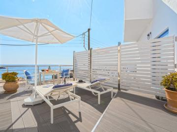 Suite Sea View I, lefka ori hotel sfakia village, lefka ori chora sfakion, sea view hotel sfakia, best hotel to stay south chania, best value for money hotel crete