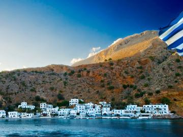 loutro village sfakia crete