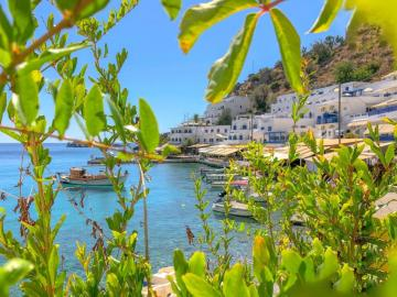 A special hotel in this magical place, porto loutro hotel, loutro hotel