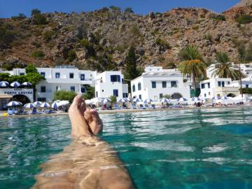 CreteTravel,South Crete,Hotel Porto Loutro On The Beach