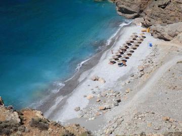 illingas beach sfakia village, south chania crete, chora sfakion chania crete