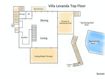 villa levanda, family three bedroom villa gavalochori chania crete, luxury villa private pool west crete, apokoron villlas chania, family best villa chania crete, village atmosphere villa chania