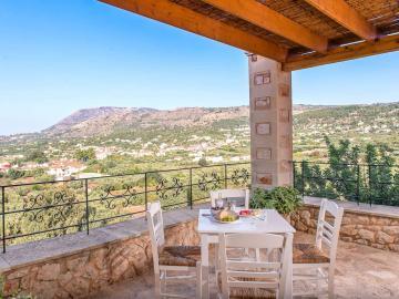 villa elia gavalochori village chania crete, villa elia bleverde vilas