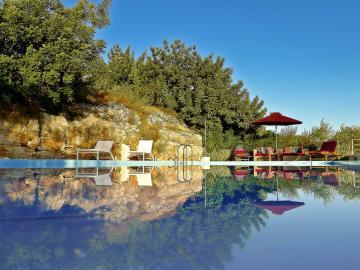 swimming pool, Villa Levanda Bleverde Villas, Gavalochori Best Villas, Chania Villas Private pool, Villas nearby village chania crete, gavalohori village residences three bedrooms
