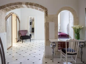penthouse suite casa delfino hotel, boutique hotel chania crete, best hotel chania, where to stay chania, luxury stay chania crete