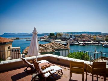 Casa Delfino boutique hotel, Casa Delfino Venetian mansion, Casa Delfino Hotel Spa Chania Crete, Best Hotel Chania Crete, luxury suites chania, spa treatments hotel chania town, sea view hotel chania, old venetian port views hotel, design hotel, Chania where to stay
