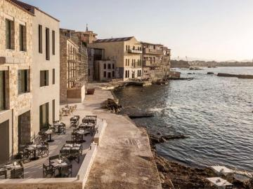 the tanneries boutique hotel, the taneries boutique hotel, tannerries hotel spa, tabakaria hotel, periplous restaurant chania crete, halepa chania design hotel, design hotels chania crete, best small hotel chania, best sea view hotel chania crete, chania where to stay