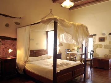 superior double room, elia traditional hotel chania crete, ano vouves elia inn, kolimvari elia hotel spa