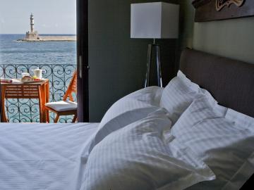 matina double Room, mama nena charming hotel chania crete