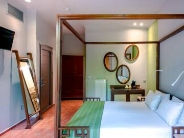 double room, splanzia hotel chania crete, splazia hotel chania crete, small family hotel chania, chania best quiet hotel chania, splanzia square hotel chania