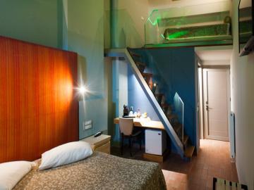 triiple room, splanzia hotel chania crete, splazia hotel chania crete, small family hotel chania, chania best quiet hotel chania, splanzia square hotel chania