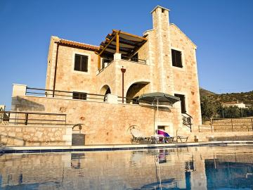 CreteTravel,West Crete,Villa Afrati