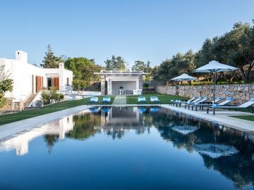 CreteTravel,West Crete,Villa Oleander - Akrotiri - Chania